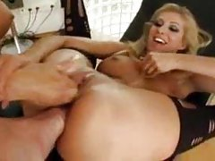 Girls fisting and foot fucking together tubes
