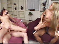 Each babe fucked by a dude and they swallow tubes