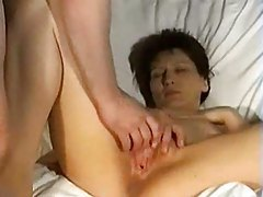 Foursome with women of all ages and a guy tubes
