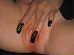 Foursome with sluts in stockings tubes