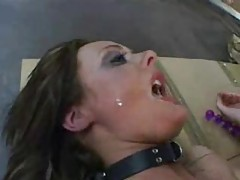 Melissa Lauren likes really rough play tubes