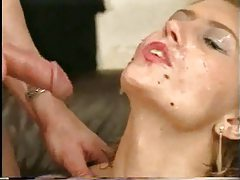 They fuck the girl and then piss on her tubes