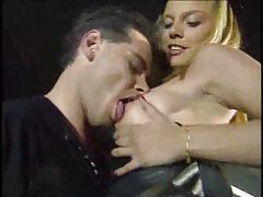 Erotic blonde fucks truck driver in his cab tubes