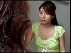 Japanese housewife cheats with lust tubes