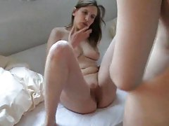 German girl with great body gets off on cock tubes