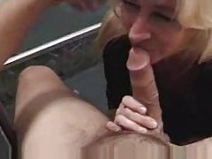 Mature oral and a facial cumshot tubes