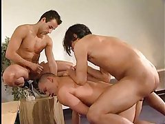 Gay anal threesome with perfect Turkish guys tubes