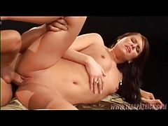 Lusty blowjob and sex for the shaved pussy girl tubes