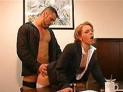 An office fuck clip with two scenes tubes