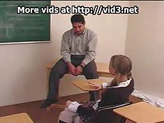 Schoolgirl is spanked by teacher tubes