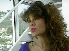 Porn great Teri Weigel sucking on dick tube