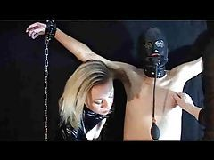 Slave male is abused by the mistresses tubes