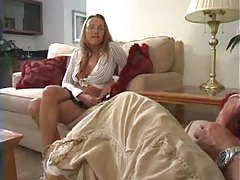 Muscular guy fucks cutie and cums on her tubes