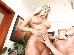 Perky tit blonde with awesome ass is fucked tubes