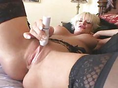Horny milf wants thick cock to fuck her tubes