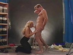 Slutty chick Sandra Scream riding dick tubes