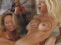 Blondes are glamorous and fisting hard tubes