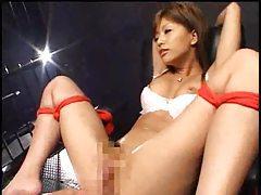 Japanese girl in three fun scenes tubes