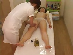 Naked and naugty massage for Japanese girl tubes
