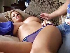 Curvy slut with great big tits takes younger cock tubes