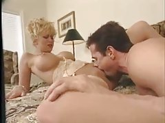Peter North nails the blonde with his big cock tubes