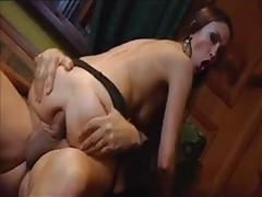 Stockings girl has her asshole opened up tubes