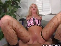 Shaved cunt rides cock POV tubes