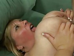 Jiggly fat slut filled with hard dick tubes