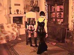 Young sweetheart spanked by her mistress tubes