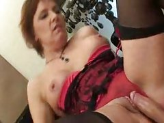 His horny mother in law seduces him tubes