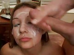 Cumshot compilation with big facials tube