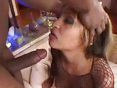 Ramming cock into her big ass tubes
