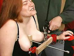 He has some bondage fun with the hot girl tubes