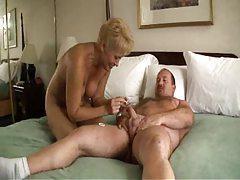 Chubby dude fucking blonde mature slut tubes