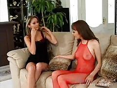 Glamorous and gorgeous girls eat pussy tubes