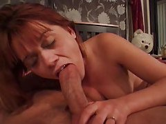 She gives a really slow blowjob tubes