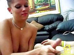 She has nice tits and a good hand for stroking tubes