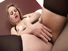 Sexy milf in stockings and her black lover tubes