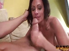 Big tits girl with back tattoo likes dick tubes