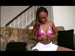 Black girl feasts on dark dick tubes
