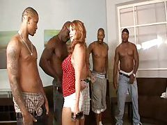 Naughty slut picks her favorite black guy tubes