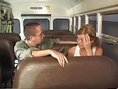 Having sex with a schoolgirl on the bus tubes