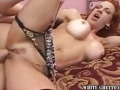 Milf in stockings taken by dick tubes