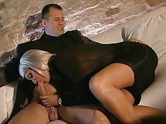 Euro blonde is intensely beautiful and aroused tubes