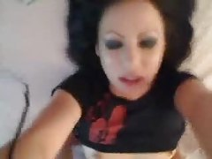 POV sex inside the hot goth babe tubes