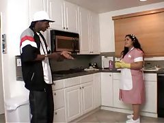 Fat Latina maid fucked by a black guy tubes
