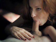 Super slow motion blowjob from redhead tubes