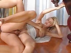 Milf in a sexy dress gets big cock in her box tubes