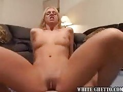 Young chick fucked really hard in POV tubes