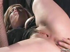 He fucks the bondage whore hard tubes